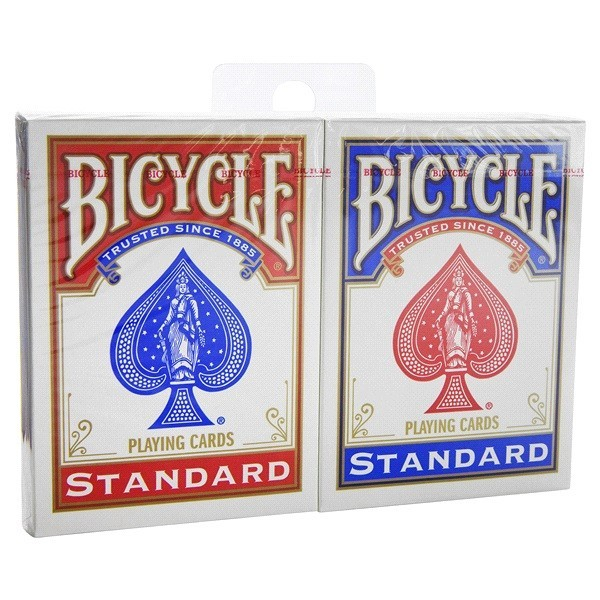 2-pack Standard Index Rider Back