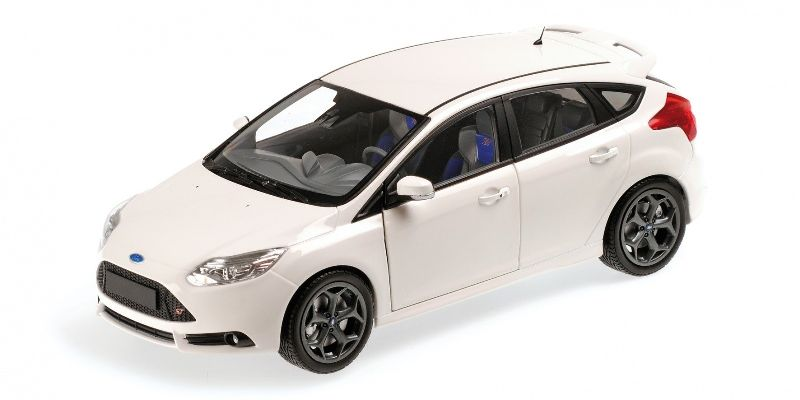 Ford Focus ST 2011 (white)