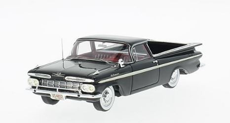 Chevrolet El Camino 1959 (black/white)