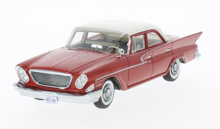 Chrysler Newport Sedan 1961 (red/white)