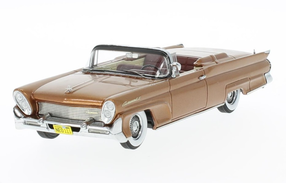 Lincoln Continental MKIII Convertible 1958 (copper)