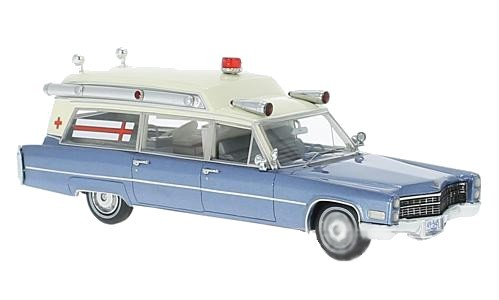 Cadillac S&S High Top Ambulance 1966