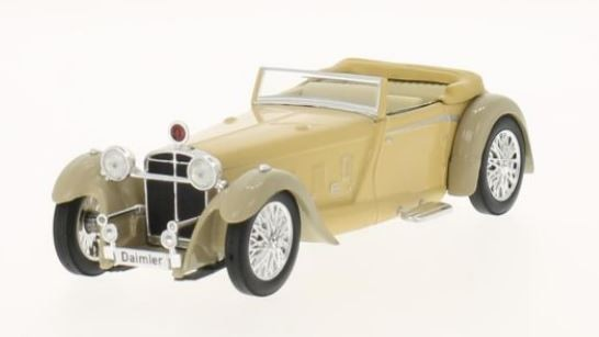 Daimler Double Six 50 Convertible RHD 1931 (dark beige/grey)