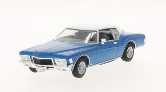 Buick Riviera Coupe 1972 (metallic blue/white)