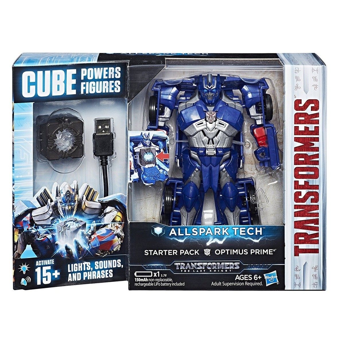 TRANSFORMERS MV5 All Starter Pack Jupiter, Optimus Prime