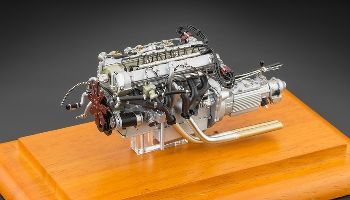 Aston Martin DB4 GT 1961 Engine