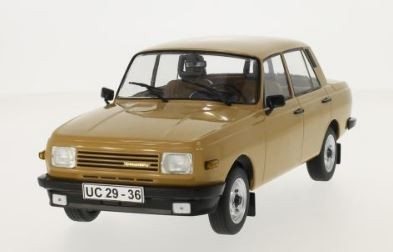 Wartburg 353 1985 (light brown, doors and hoods closed)