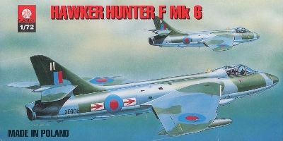 PLASTYK Hawker Hunter F Mk 6