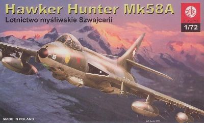 PLASTYK Hawker Hunter Mk58A