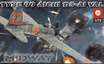 Type 99 Aichi D3 -A-1 Val Midway