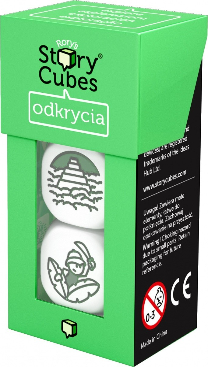 Story Cubes' Odkrycia