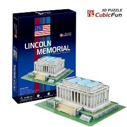 PUZZLE 3D Lincoln Memorial