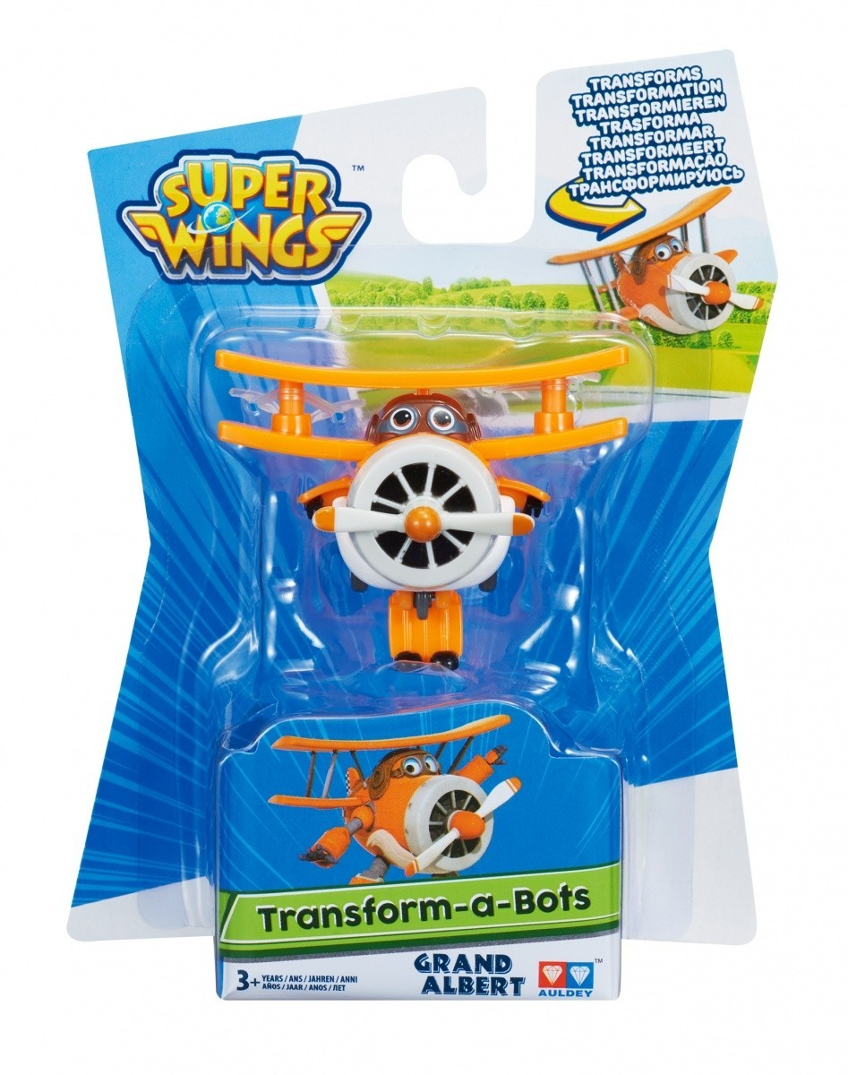 Super Wings Figurka transformująca, Grand Albert