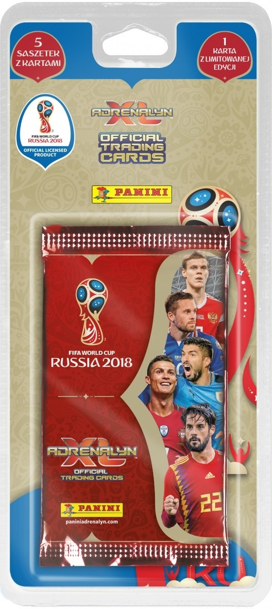 FIFA World Cup Russia 2018 XL blister