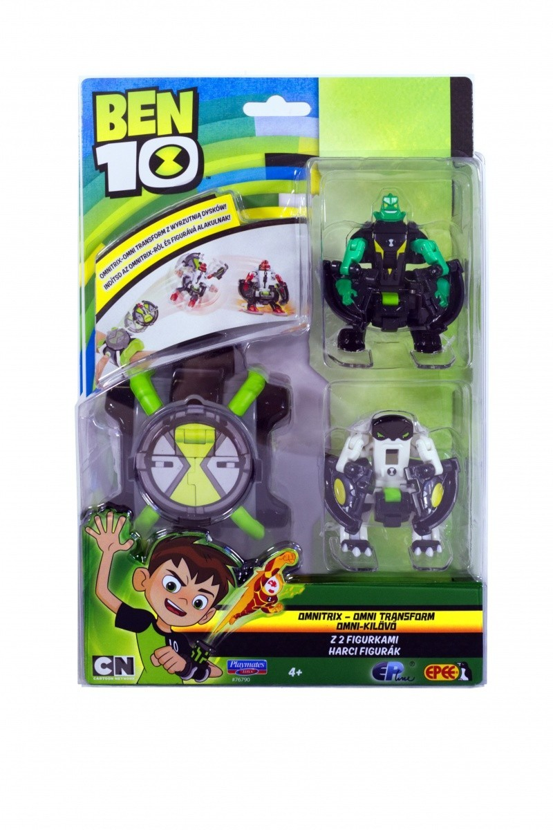 Ben 10 Omnitrix Omn i Transform Dimondhead+Cannobolt