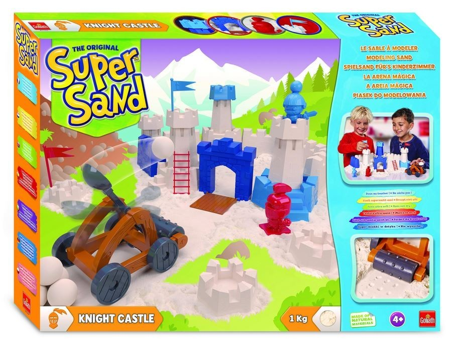 Super Sand Knight Castle