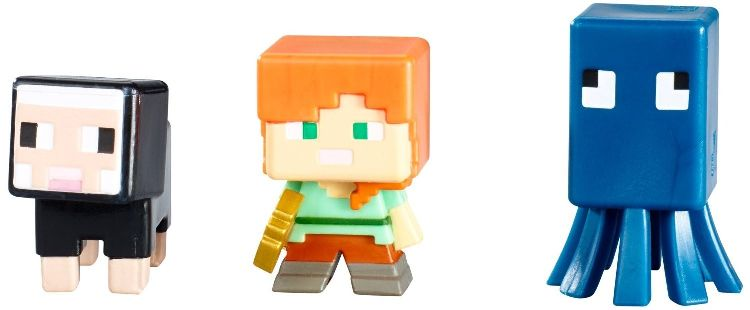 MINECRAFT 3pack figurek seria J