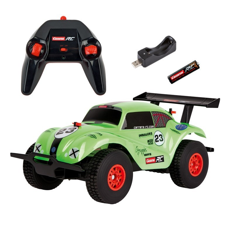 RC Off Road VW Beetle, green 1:18