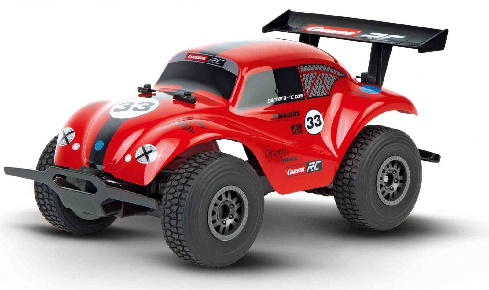 RC Off Road VW Beetle, red 1:18