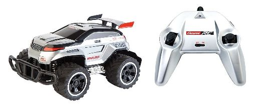 RC Off Road Silver Wheeler