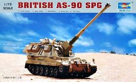 TRUMPETER British AS-90 SPG