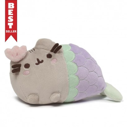 Pusheen Mermaid with Clam 17cm