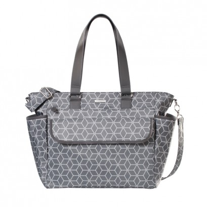 Joissy Torba FANCY - geometric grey