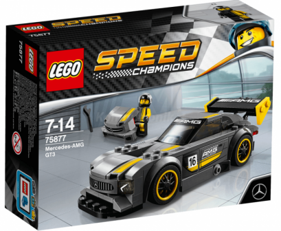 75877 Lego  Speed Champions Mercedes-AMG GT3
